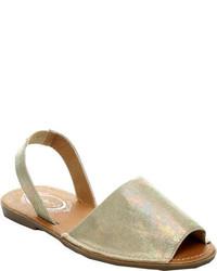 Beston Clori 02 Slingback Sandal Blue Faux Leather Sandals