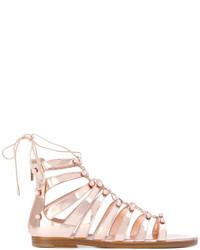 43594c248c73 Jimmy Choo Wyatt Cubed Mirror Leather Flat Sandals Out of stock · Jimmy  Choo Gigi Sandals