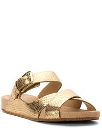 ab5dea09d8ea ... Thong Sandal Gold Out of stock · MICHAEL Michael Kors Michl Michl Kors  Sawyer Slide