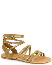1c2a73f7640 $110, UGG Australia Devie Metallic Gladiator Sandals