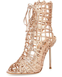 Delphine metallic gladiator sandal medium 236603