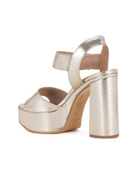 Love Moschino Chunky Heel Sandals