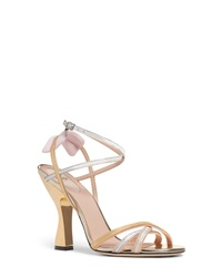 Fendi Colibri Py Metallic Sandal