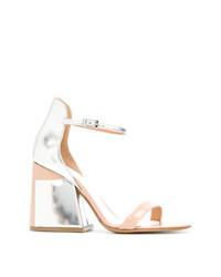 Maison Margiela Contrast Open Toe Sandals