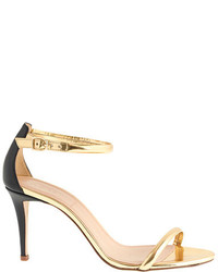J.Crew Mixed Leather Strappy High Heel Sandals
