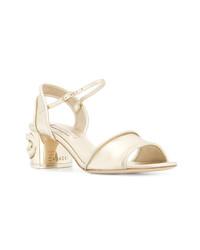 Casadei Knot Heel Sandals