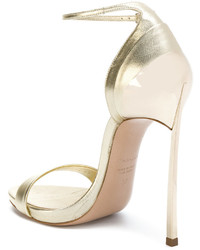 Casadei Layered Heel Sandals