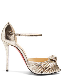 Christian Louboutin Marchavekel 100mm Leather Sandals