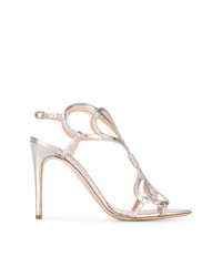 Rupert Sanderson Metallic Sandals