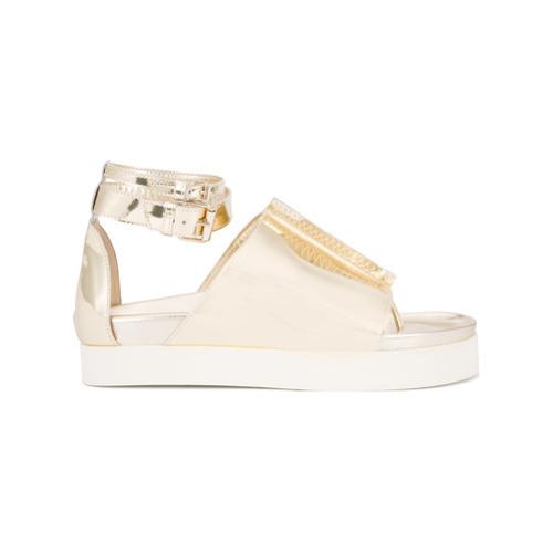 Ellery Metallic Sandals
