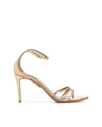 Aquazzura Mirrored Strappy Sandals