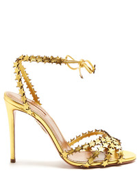 Aquazzura Starlight Leather Sandals