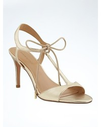 Banana Republic T Strap High Heel Sandal
