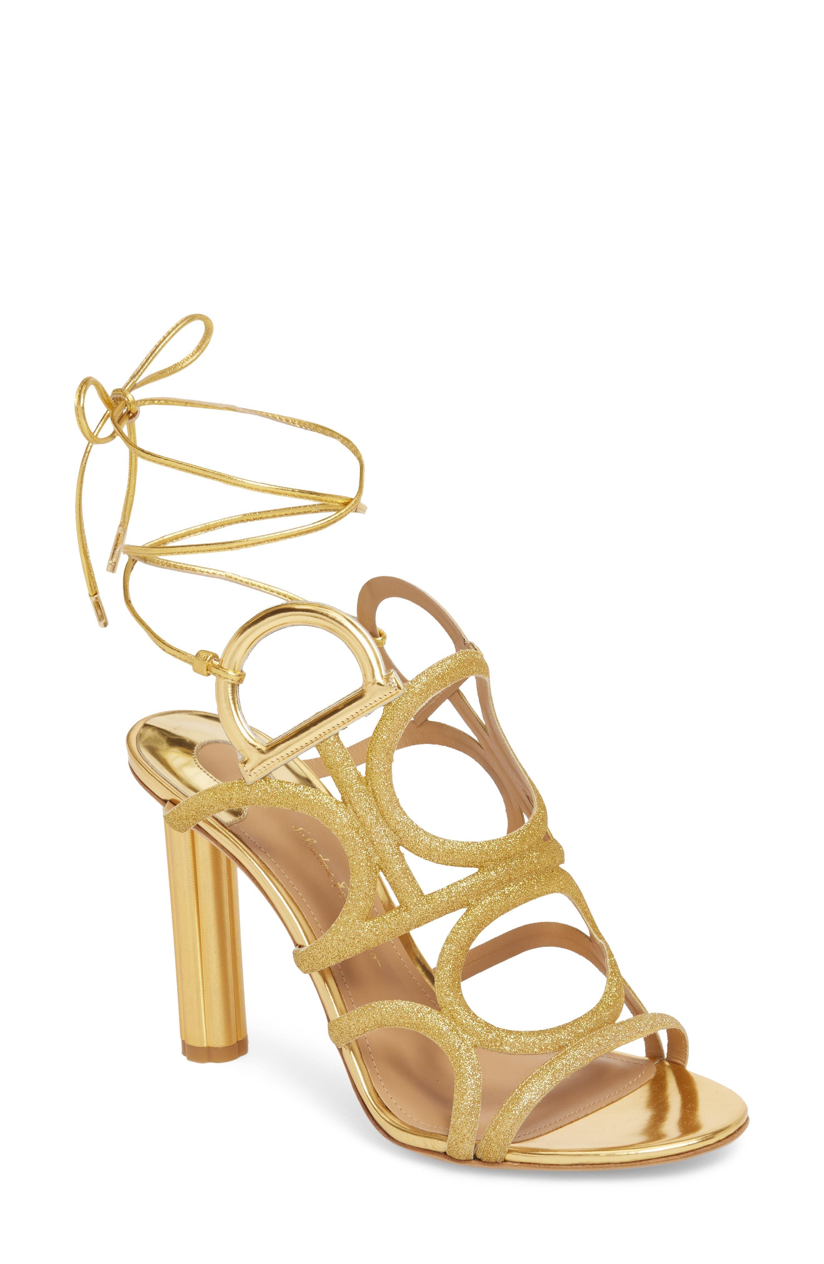 Salvatore Ferragamo Vinci Heeled Sandal