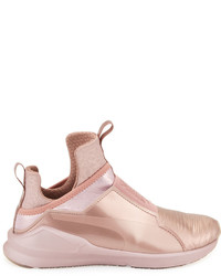 dc7399bdfde9 ... Puma Fierce Lizard Embossed High Top Sneaker Rose Gold ...