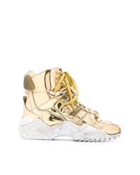 Maison Margiela High Top Retro Fit Sneakers