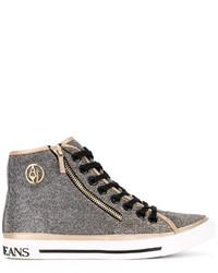 Armani Jeans Metallic Hi Tops