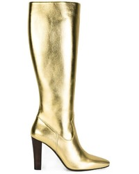 Saint Laurent Lily Knee High Boots