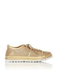Marsèll Perforated Sneakers Gold