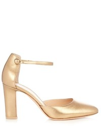 Gianvito Rossi 54 Leather Pumps