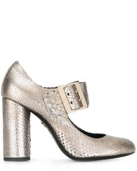 Lanvin Mary Jane Buckle Pumps