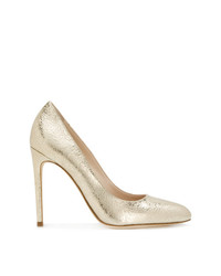 Twin-Set Metallic Heel Pumps