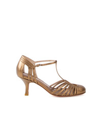Sarah Chofakian Strappy Pumps