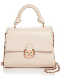 Ted Baker Verina Faux Pearl Lock Lady Leather Satchel