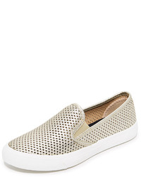 Sperry Seaside Perforated Slip On Sneakers