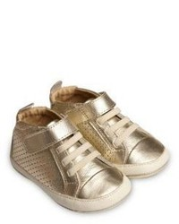 Old Soles Babys Metallic Leather Sneakers
