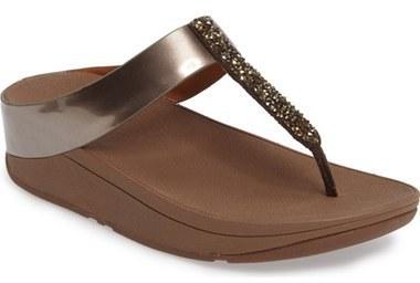 0187f8541 ... Sandals FitFlop Fino Flip Flop Sandal ...