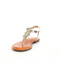 24ba36f2b061 ... Gianni Bini Rocko Jeweled Alligator Sandals