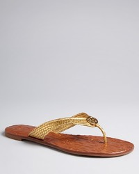 Tory Burch Thong Flip Flop Sandals Thora 2