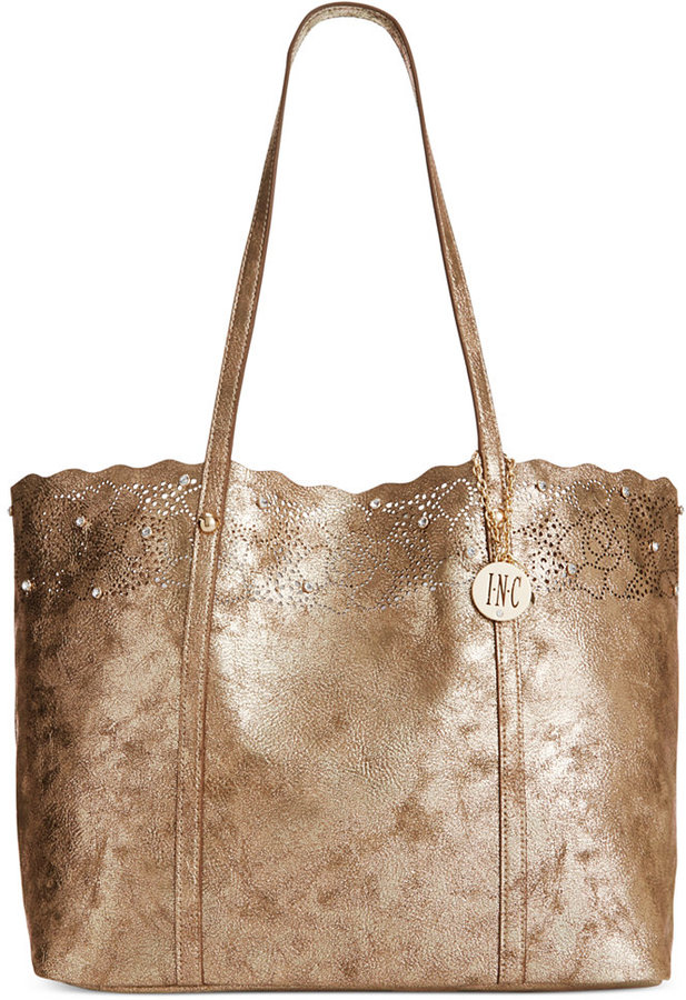 ea759313bc82 ... Bags INC International Concepts Goldie Tote ...