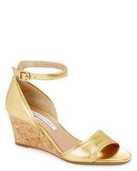 Diane von Furstenberg Asti Ankle Strap Wedges