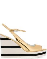 Max Mara Wedge Sandals