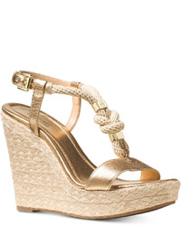 6f8dabf7a2b Michl Michl Kors Diana T Strap Platform Sandals Out of stock · MICHAEL  Michael Kors Michl Michl Kors Holly Espadrille Wedge Sandals