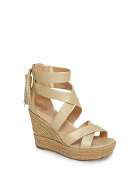 6f7912b6f3e Women's Gold Sandals by UGG | Women's Fashion | Lookastic.com