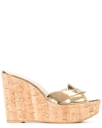 Stuart Weitzman Wedge Sandals