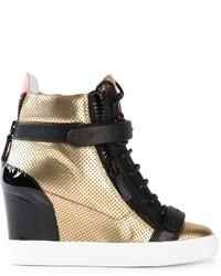 Giuseppe zanotti design wedge hi top sneakers medium 287028