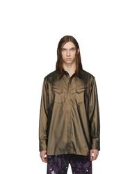 Needles Brown Cowboy Shirt