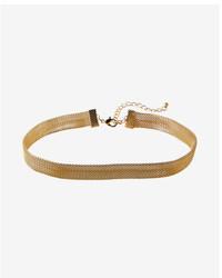 Express Metal Mesh Choker Necklace