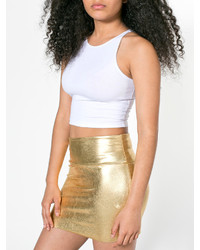 American Apparel Shiny Late Night Mini Skirt | Where to buy & how ...