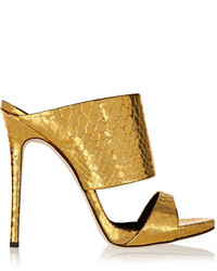 Gold mules original 10520793