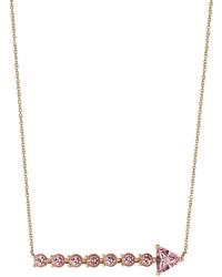 Delfina Delettrez 18kt Yellow Gold Necklace With Topaz