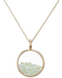Aurelie Bidermann Aurlie Bidermann 18kt Yellow Gold Chivor Necklace With Peridot