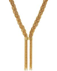 Aurelie Bidermann Aurlie Bidermann Miki 18kt Yellow Gold Plated Necklace
