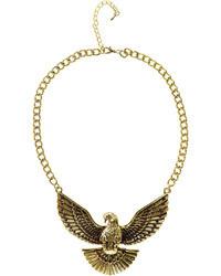 Boohoo Jules Eagle Necklace