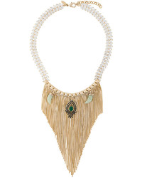 Iosselliani Burma Fringe Necklace