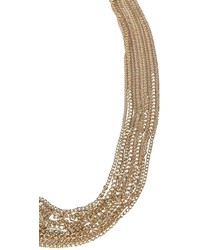 Boohoo Cherri Multi Chain Statet Collar Necklace